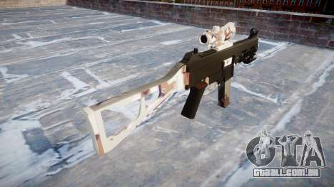 Arma UMP45 Choco para GTA 4 segundo screenshot