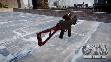 Arma UMP45 Arte da Guerra para GTA 4 segundo screenshot