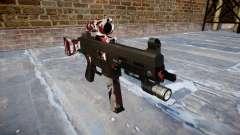 Arma UMP45 estão vermelhos