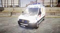 Mercedes-Benz Sprinter ARM Ambulance [ELS] para GTA 4