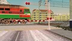 Novas texturas para o tráfego ferroviário para GTA San Andreas