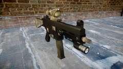 Arma UMP45 UM exército de fãs de couro AU