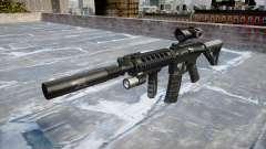 Máquina Tático M4A1 CQB alvo