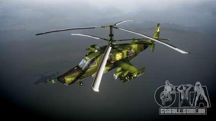Ka-50 Black shark para GTA 4