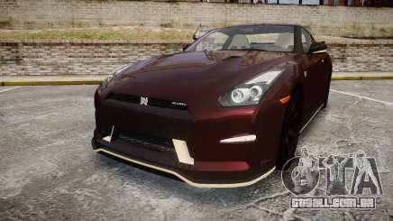 Nissan GT-R R35 Nismo para GTA 4