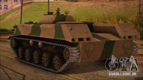 BMD-1 de ArmA Assalto Armado Camuflagem para GTA San Andreas esquerda vista