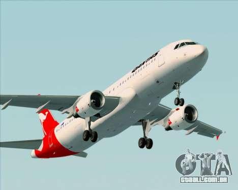 Airbus A320-200 Qantas para o motor de GTA San Andreas