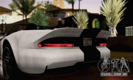 GTA 5 Bravado Banshee (IVF) para GTA San Andreas traseira esquerda vista