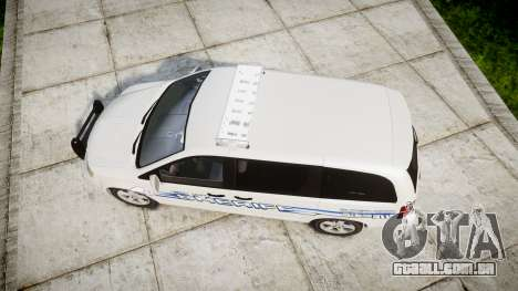 Dodge Grand Caravan [ELS] Liberty County Sheriff para GTA 4 vista direita