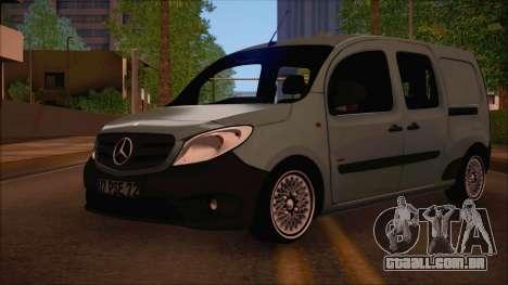 Mercedes-Benz Citan Stock 2013 para GTA San Andreas