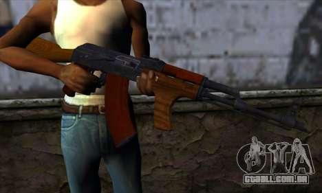 Romanian AKM para GTA San Andreas terceira tela
