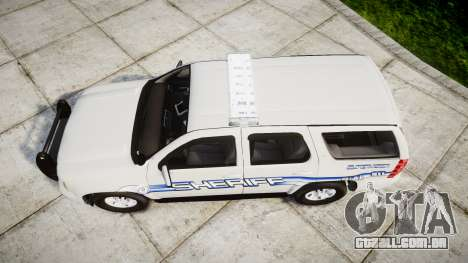 Chevrolet Tahoe [ELS] Liberty County Sheriff para GTA 4 vista direita