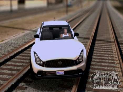 Fathom FQ2 GTA V para GTA San Andreas esquerda vista