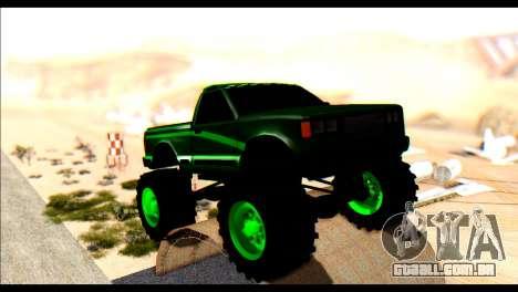 City Destroyer v2 para GTA San Andreas esquerda vista