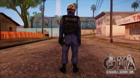 GSG9 from Counter Strike Condition Zero para GTA San Andreas segunda tela