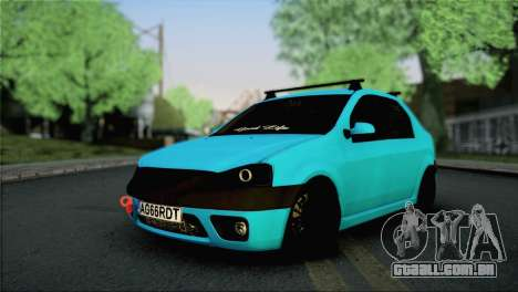 Dacia Logan Simply Clean para GTA San Andreas
