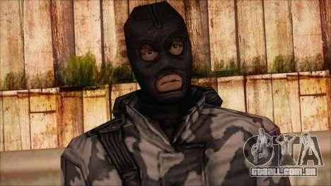 Artic from Counter Strike Condition Zero para GTA San Andreas terceira tela