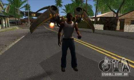 Jetpack from Batman Arkham Origins para GTA San Andreas terceira tela