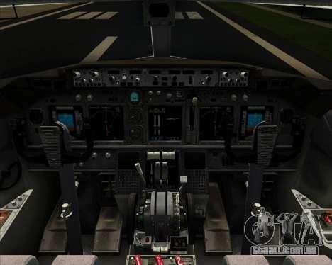 Boeing 737-800 United Airlines para o motor de GTA San Andreas
