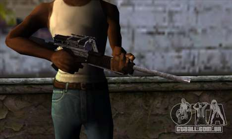 Calico M951S from Warface v1 para GTA San Andreas terceira tela