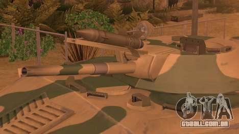 BMD-1 de ArmA Assalto Armado Camuflagem para GTA San Andreas traseira esquerda vista