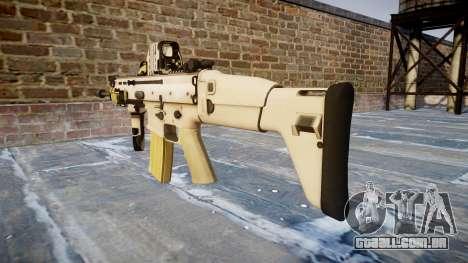 Máquina FN SCAR-L Mc 16 icon2 para GTA 4 segundo screenshot
