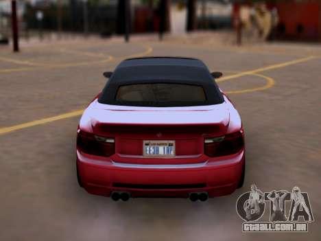 A superioridade de Sião convertíveis em GTA V para GTA San Andreas vista direita