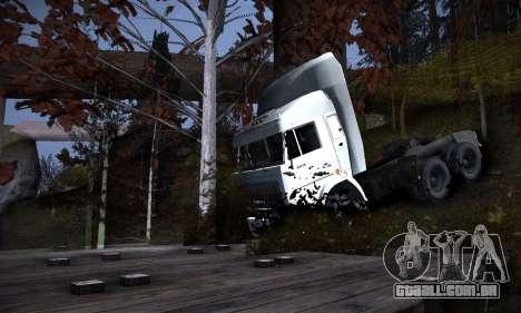 Pista de off-road 2.0 para GTA San Andreas sexta tela