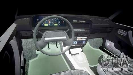 UTILIZANDO-2109 hobo para GTA 4 vista de volta