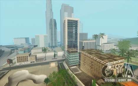 ENB para baixo PC (SAMP) para GTA San Andreas nono tela