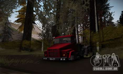 Pista de off-road 2.0 para GTA San Andreas terceira tela