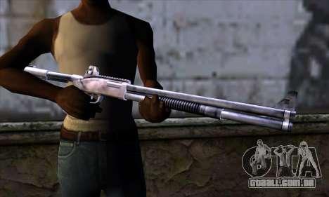 Chromegun Standart para GTA San Andreas terceira tela