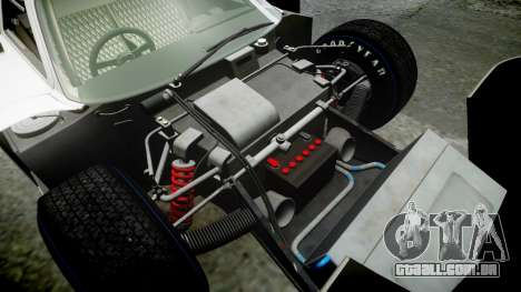 Ford GT40 Mark IV 1967 PJ Arnao Racing 74 para GTA 4 vista superior