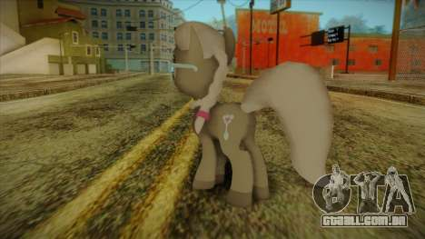 Silverspoon from My Little Pony para GTA San Andreas segunda tela
