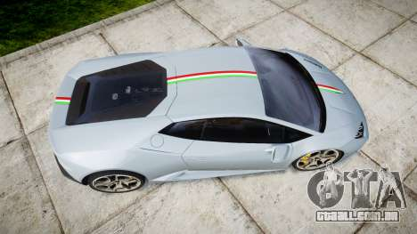 Lamborghini Huracan LP 610-4 2015 para GTA 4 vista direita