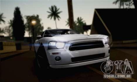 Bravado Buffalo 2nd Generation para GTA San Andreas traseira esquerda vista