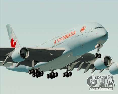 Airbus A380-800 Air Canada para o motor de GTA San Andreas