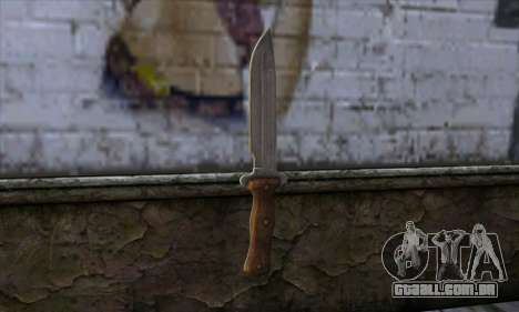 Daryl Knife from The Walking Dead para GTA San Andreas