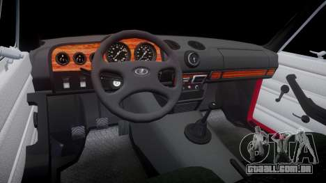 VAZ-21067 para GTA 4 vista interior