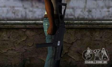 UMP45 v1 para GTA San Andreas terceira tela