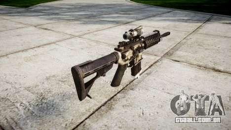 Máquina P416 ACOG PJ1 para GTA 4 segundo screenshot