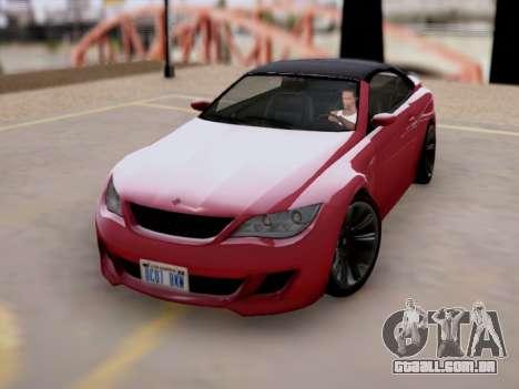A superioridade de Sião convertíveis em GTA V para GTA San Andreas
