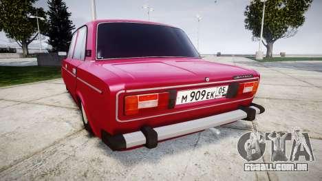 VAZ-21067 para GTA 4 traseira esquerda vista
