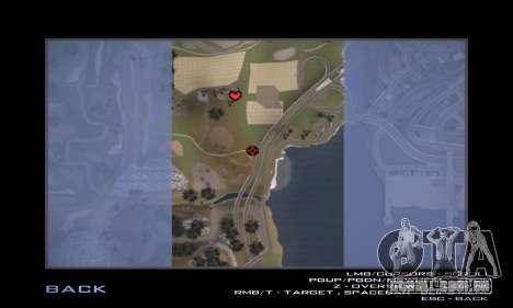 Pista de off-road 2.0 para GTA San Andreas oitavo tela