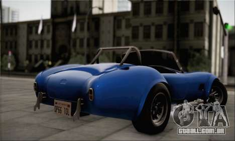 Shelby Cobra V10 TT Black Revel para GTA San Andreas esquerda vista