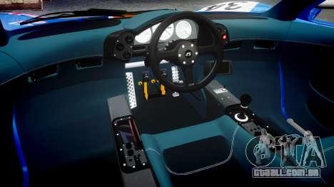 McLaren F1 1993 [EPM] Gulf 34 para GTA 4 vista interior