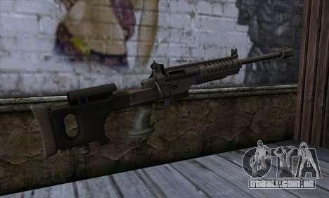 JNG-90 para GTA San Andreas segunda tela