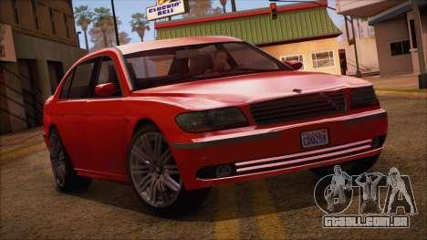 GTA 5 Ubermacht Oracle XS para GTA San Andreas