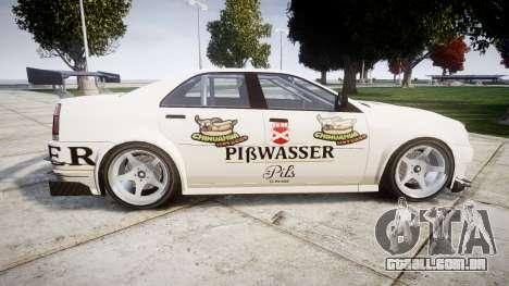 Albany Presidente Racer [retexture] Pibwasser para GTA 4 esquerda vista