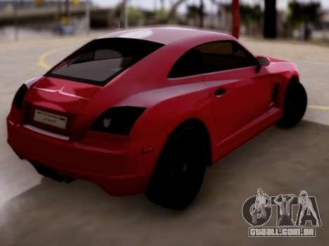 GTA 5 Fusilade para GTA San Andreas esquerda vista